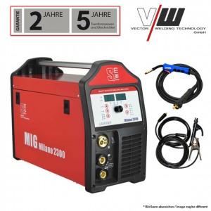 Kombinirani varilni aparat inverter Vector Welding MILANO2300 (MIG/MAG/TIG/MMA)