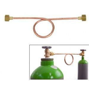 Priprava za pretakanje plina CO2 / Argon