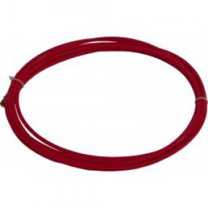 Teflonsko vodilo žice - liner za MIG gorilnik rdeče 2,0 mm x 4,5 m