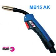 MIG/MAG paket cevi MB15 AK - 4 m